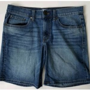 Banana Republic Boyfriend Roll Up Short Size 27